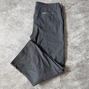 PrAna Black Monarch convertible hiking pants